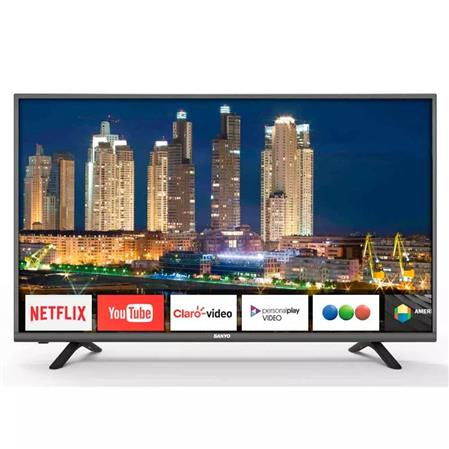 "TV LED SMART 49"" SANYO LCE49SU8350 4K TDA"