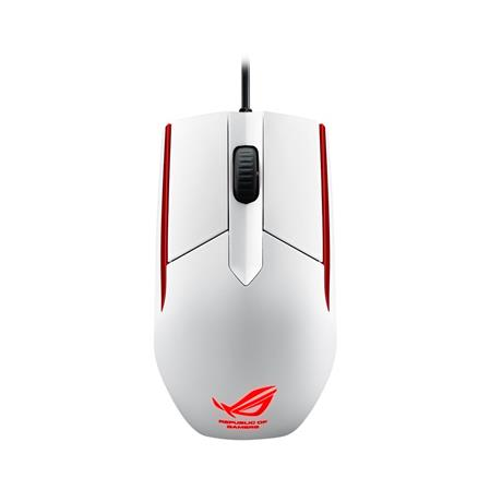 MOUSE ASUS SICA WHITE USB GAMER 5000DPI