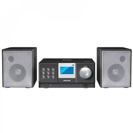MINICOMPONENTE PROLINE PR90-MR/DTH CD AM/FM USB AUX REMOTO AURIC SD MP3 350W PMPO