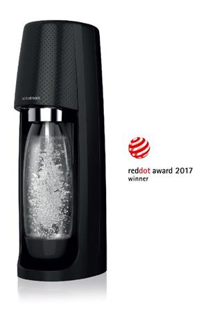 MAQUINA SODASTREAM FIZZI BOTELLA 1L GAS 60L BLACK
