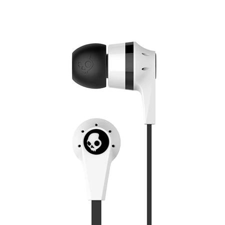 AURICULAR C/MIC INEAR SKULLCANDY S2IKFY-074 INK'D 2 WHITE AND BLACK