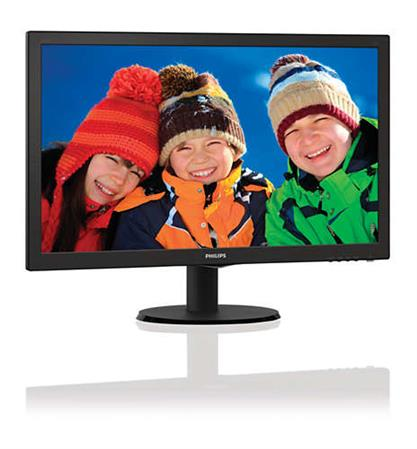 "MONITOR 24"" PHILIPS 243V5LHSB/55 LED FULLHD 1MS"