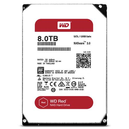 DISCO RIGIDO 8TERA WESTERN DIGITAL RED NAS (WD80EFAX) SATA III