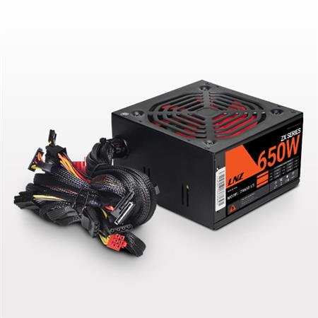 FUENTE 650W LNZ ZX65O-LS FAN 120MM