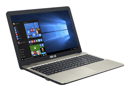 "NOTEBOOK 15"" ASUS VIVOBOOK MAX X541NA N3350 4GB HD 1TERA WIN 10"