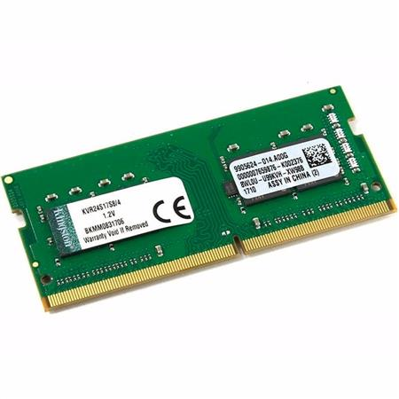 MEMORIA SODIMM DDR4 4GB 2400 KINGSTON