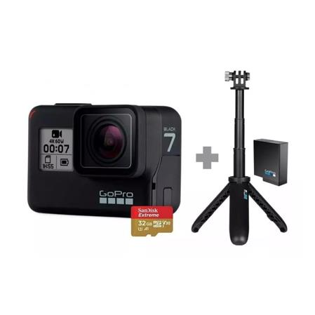 CAMARA GOPRO HERO7 BLACK CHDHX-701-RW 4K HYPERSMOOTH TACTIL VOZ