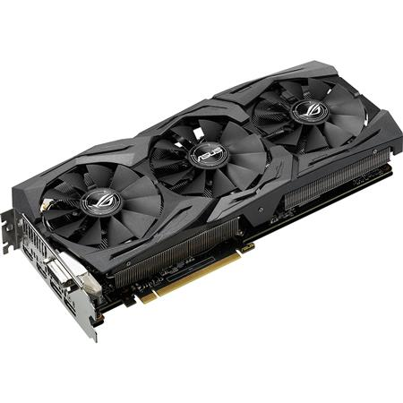 PLACA DE VIDEO GF ASUS GTX 1060 ROG STRIX OC 6GB GDDR5 192bit PCIE