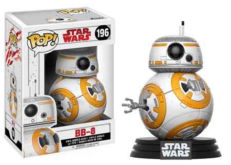 FIGURA FUNKO POP STAR WARS BB-8 196
