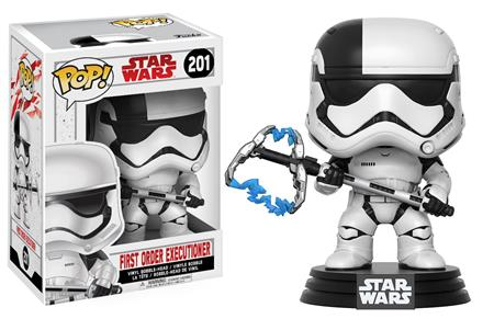 FIGURA FUNKO POP STAR WARS FIRST ORDER EXECUTIONER 201
