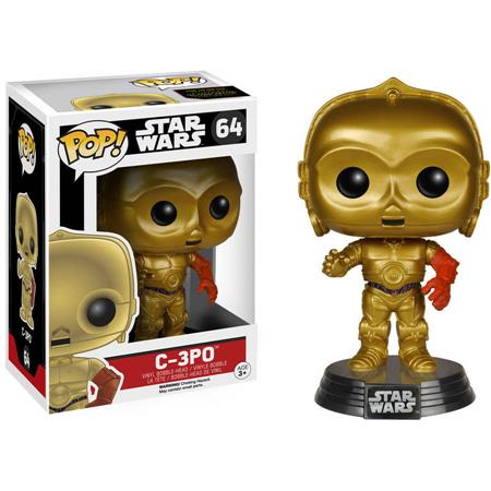 FIGURA FUNKO POP STAR WARS C-3PO 64