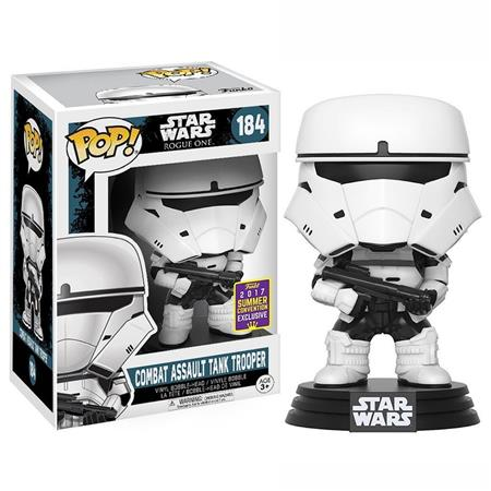 FIGURA FUNKO POP STAR WARS COMBAT ASSAULT TANK TROOPER EXCLUSIVE 184