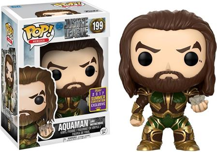 FIGURA FUNKO POP JUSTICE LEAGUE AQUAMAN EXCLUSIVE 199