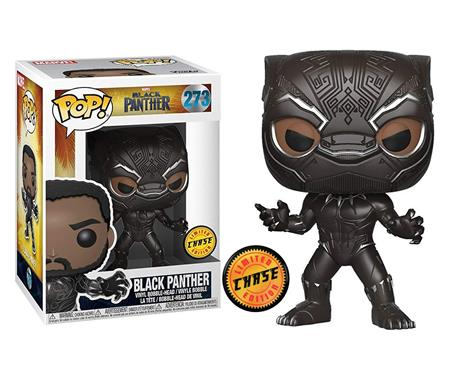 MUÑECO FUNKO POP VINYL MARVEL BLACK PANTHER LIMITED EDITION 273