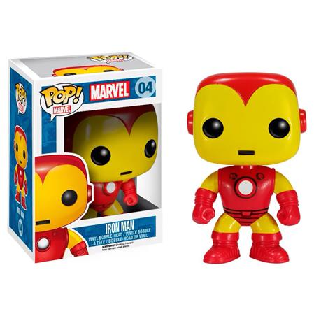 FIGURA FUNKO POP MARVEL IRON MAN 4