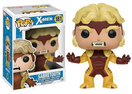 MUÑECO FUNKO POP MARVEL X-MEN SABRETOOTH 181