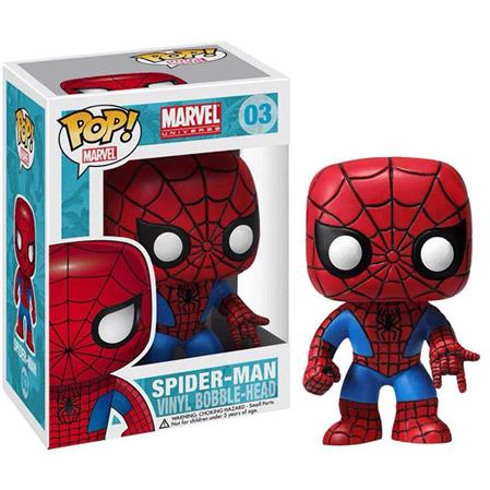 MUÑECO FUNKO POP VINYL MARVEL SPIDER-MAN 003