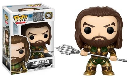 MUÑECO FUNKO POP HEROES JUSTICE LEAGUE AQUAMAN 205