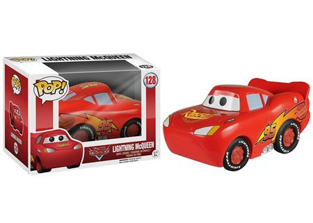 FIGURA FUNKO POP DISNEY CARS LIGHTNING MCQUEEN 128