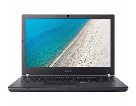 "NOTEBOOK 14"" ACER TRAVELMATE P4 i3-7100U 4GB 500GB HD 180° FINGER TAPA CARBONO SLIM WIN 10 PRO"