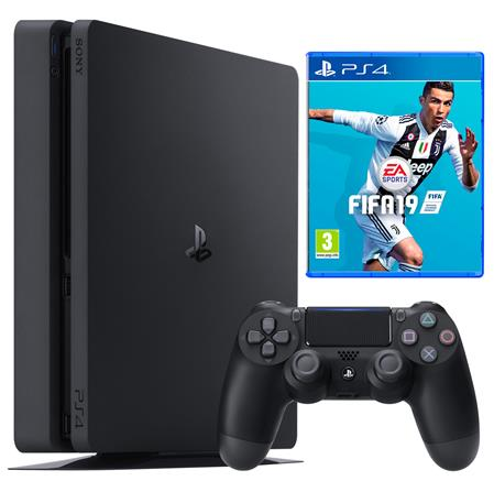 CONSOLA SONY PS4 PLAYSTATION 4 1TERA HDR FIFA 19 BUNDLE
