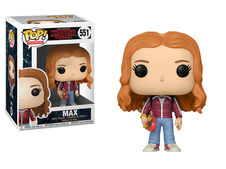 FIGURA FUNKO POP STRANGER THINGS MAX 551