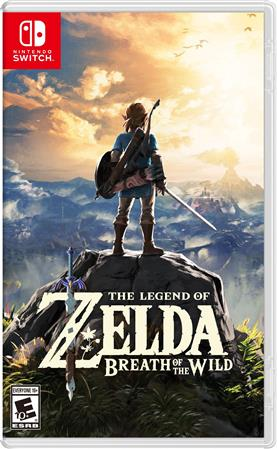 JUEGO NINTENDO SWITCH BOX THE LEGEND OF ZELDA BREATH OF THE WILD