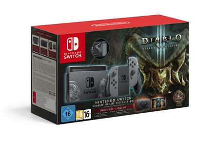 CONSOLA NINTENDO SWITCH DIABLO III ETERNAL COLLECTION INCLUDES CARRYING CASE