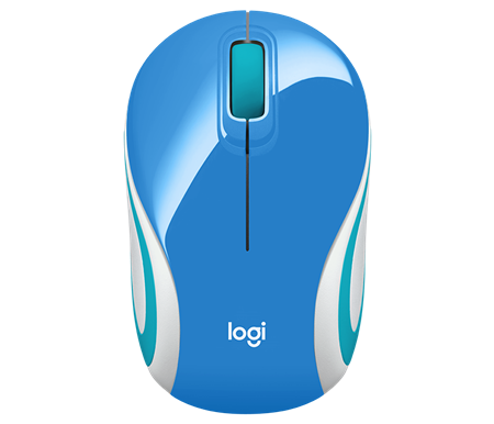 MOUSE WIRELESS LOGITECH M187 REFRESH BLUE 005360