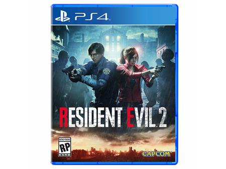 JUEGO PS4 BOX RESIDENT EVIL 2