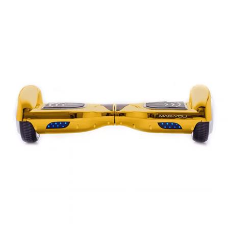 PATINETA HOOVERBOARD MAX-YOU F6 BLUETOOTH PARLANTE GOLD