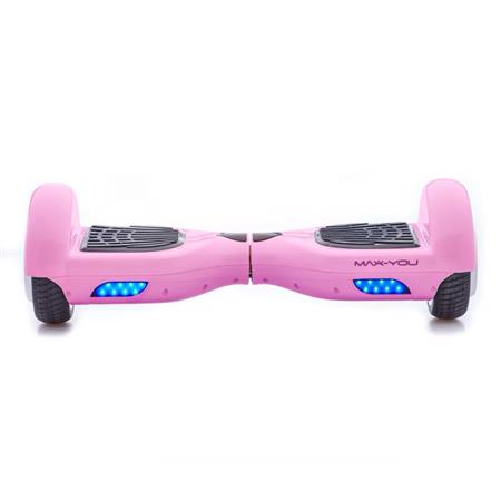 PATINETA HOOVERBOARD MAX-YOU F6 BLUETOOTH PARLANTE PINK