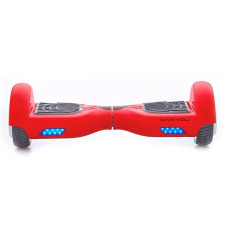 PATINETA HOOVERBOARD MAX-YOU F6 BLUETOOTH PARLANTE ROJO