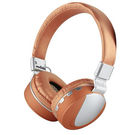 AURICULAR WIRELESS C/MIC VINCHA MPLSBO MS-K9 NOISE CANCELLING TF CARD FM MP3 BRONZE