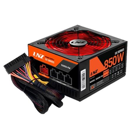 FUENTE 850W LNZ ZX85O-LS FAN 140MM