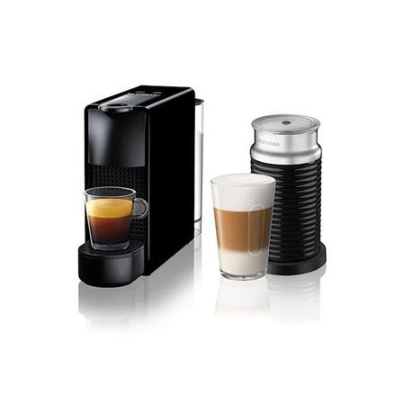 CAFETERA NESPRESSO ESSENZA MINI C BUNDLE BLACK VIRTUAL A3NC30-AR-BK-NE