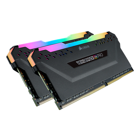 MEMORIA DDR4 16GB 3200 CORSAIR VENGEANCE RGB PRO CL16 BLACK (2x8GB)