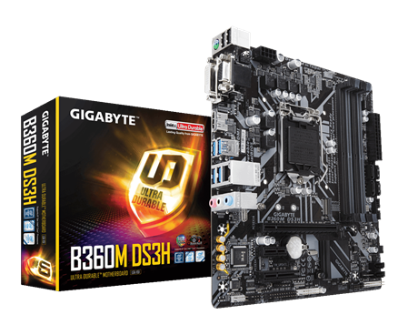MOTHERBOARD GIGABYTE B365M-A DS3H 1151