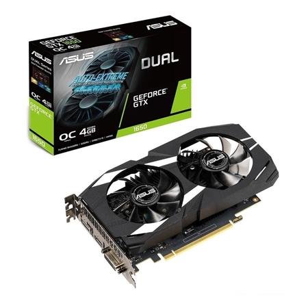 PLACA DE VIDEO GF ASUS GTX 1650 DUAL 4GB GDDR5 128bit PCIE