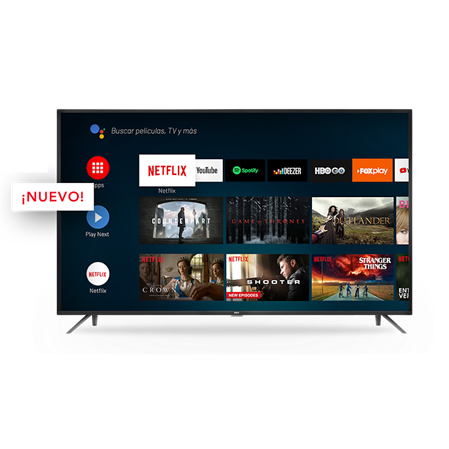 "SMART TV 50"" RCA X50ANDTV 4K UHD HDR LED ANDROID TV"