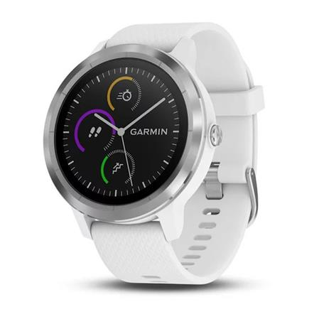 SMARTWATCH GARMIN VIVOACTIVE 3 GPS PAGOS CONTACTLESS SPORTS APPS WHITE/SILVER