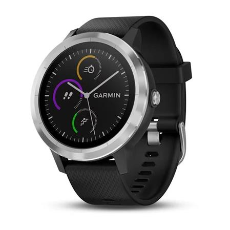 SMARTWATCH GARMIN VIVOACTIVE 3 GPS PAGOS CONTACTLESS SPORTS APPS BLACK/SILVER