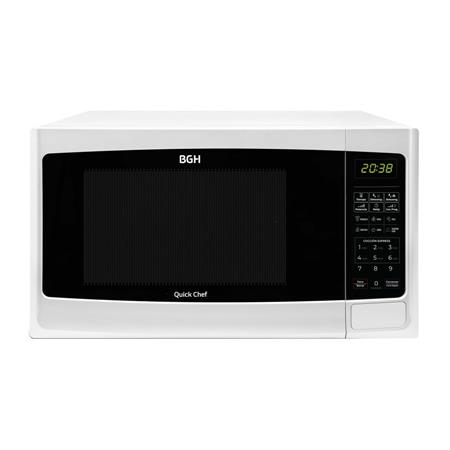 MICROONDAS BGH QUICK CHEF B228DB9 28L DIGITAL GRILL 900W BLANCO