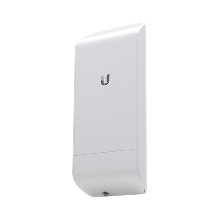 ACCESS POINT CPE OUTDOOR UBIQUITI NANOSTATION LOCOM5 5GHZ 13DBI 2x2 150MBPS AIRMAX