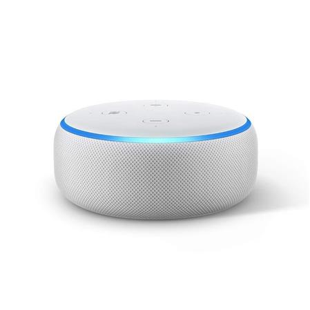 PARLANTE AMAZON ECHO DOT (3 GEN) ALEXA BLUETOOTH WIFI AUDIO LINE OUT SANDSTONE