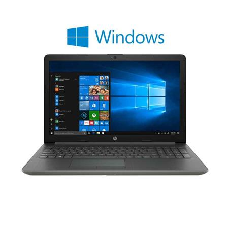 "NOTEBOOK 15"" HP i5-8250U 4GB HD 1TERA WIN 10 SILVER"