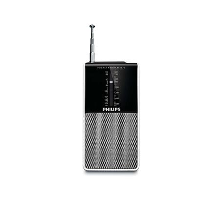 RADIO PORTATIL PHILIPS AE1530 A PILAS AM/FM