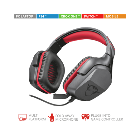 AURICULAR C/MIC VINCHA TRUST GXT 344 CREON PC PS4 SWITCH GAMER
