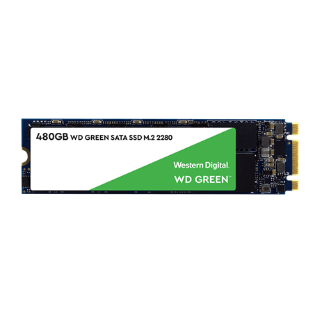 DISCO SSD M2 480GB WESTERN DIGITAL GREEN