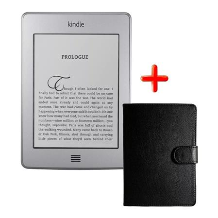 "EREADER 6"" KINDLE TOUCH GRAY 3G WIFI + FUNDA"